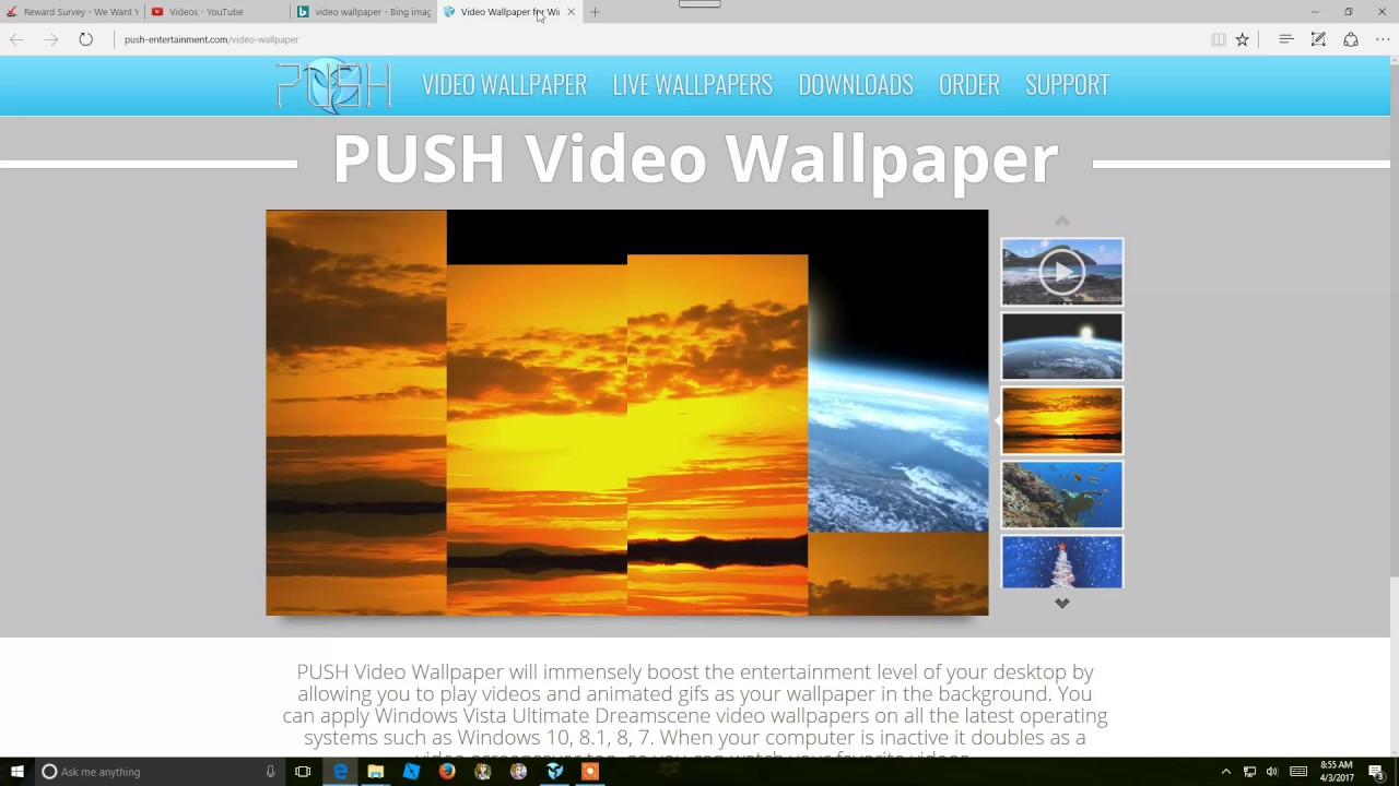 Push Video Wallpaper V421 Crack Plus License Key Free Now Full